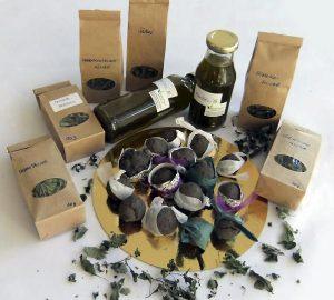 Unsere Samenbomben, Tees und Kräuteröle